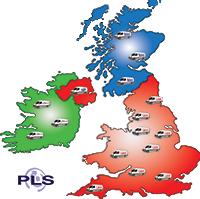UK Map PLS